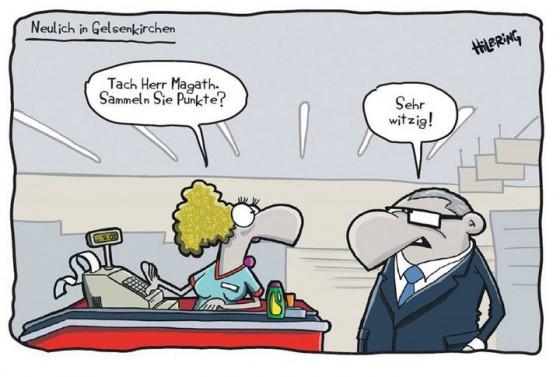 Die Schalker Misere hatte in der Hinrunde durchaus humoristisches Potential.