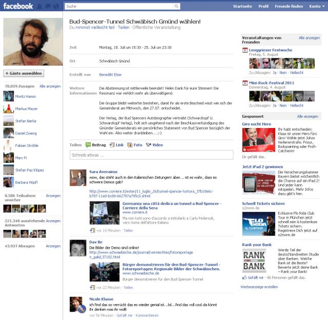 Organisierte Bürgerpartizipation auf Facebook