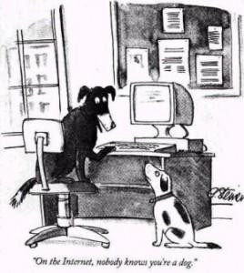 Die Klarnamenpflicht bedeutet das Aus für Anonymität im Netz. Auch für Hunde.