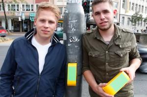 Sandro Engel und Holger Michel - Die Erfinder von StreetPong