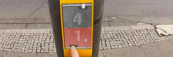 StreetPong von der HAWK Hildesheim